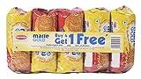 #4: Big Bazaar Combo - Britannia Biscuit Marie Gold, 120g (Buy 4 Get 1, 5 Pieces) Promo Pack