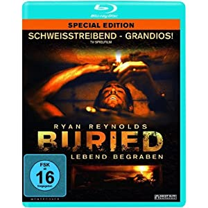 51zoOkRPyzL. SL500 AA300  Buried – Lebend begraben [Blu ray] für 5,03€ inkl. Versand