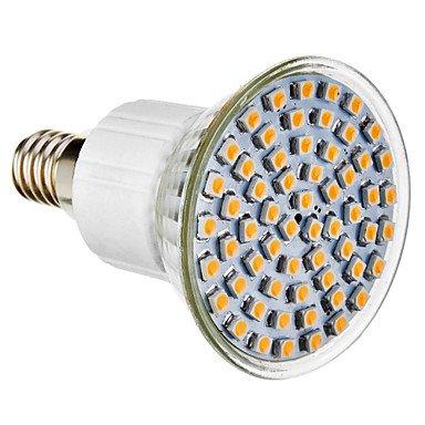 Jdr R50 E14 4W 300Lm 60X3528Smd 4100K Natural White Light Led Spot Bulb (220-240V)