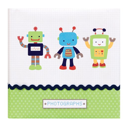 Nojo Large Photo Album, Baby Bots - 1