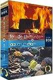 echange, troc Bundle Aquarium Marin + Feu de cheminée [Blu-Ray]