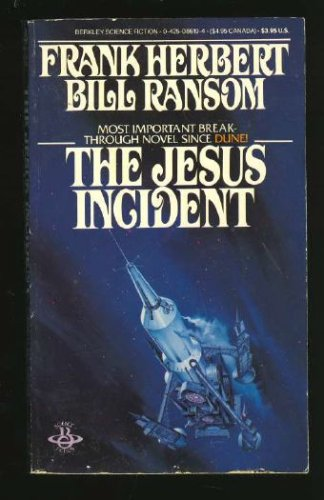 Image for The Jesus Incident