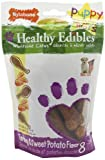 51zoTYQIAUL. SL160  Nylabone Healthy Edibles Puppy Chews, Turkey and Sweet Potato, Petite, 8 Count Pouch