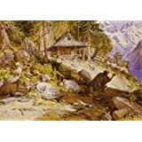 Children Sleeping in the Himalayas, by William Simpson (V&A Custom Print)