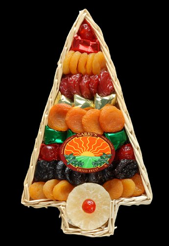 Garry's Dried Fruit Packs 1 Pounds Holiday Tree