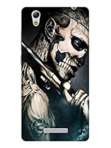 TREECASE Designer Printed Soft Silicone Back Case Cover For Gionee Pioneer P5L