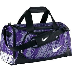 Nike Team Training Petit sac de sport pour enfant 71 x 25,5 x 25,5 cm Multicolore - Iron Purple/Black/White