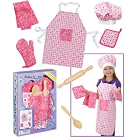 Deluxe Chef Set for Cooking Fun