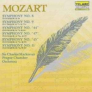 Mozart: Symphony Nos. 8, 9, 44, 47, & 11