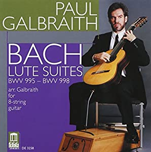 Bach: Lute Suites (Guitar Arrangement)/ Galbraith