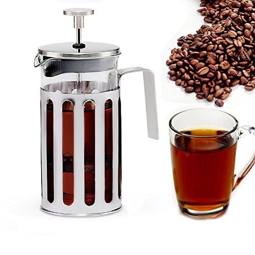 New KEDSUM French Press Coffee Maker With Heat Resistant Glass And Golid Stainless Steel Plunger, Do...
