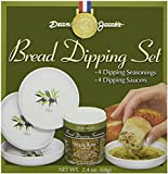 Dean Jacob's Bread Dipping Set W/melamine Dishes