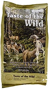 Taste of the Wild Tow Pine Forest Venison Dog Food, 5 lb