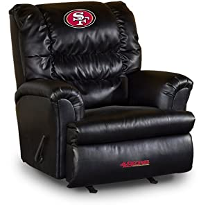 Buy NFL San Francisco 49ers Big Daddy Leather Recliner by Imperial