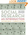 Social Research: An Introduction