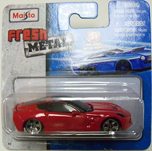 Maisto Fresh Metal Die-Cast Vehicles ~ 2014 Corvette Stingray (Red) - 1
