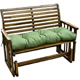 Greendale Home Fashions 46-Inch Indoor/Outdoor Swing/Bench Cushion, Summerside
