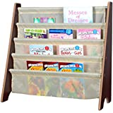 Naomi Kids Toy Sling Bookrack Espresso/Cream