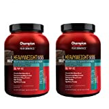 【2個セット】 Champion Nutrition チャンピオンニュートリション ヘビーウエイトゲイナー900 3.17kg [海外直送品] (チョコレートブラウニー)