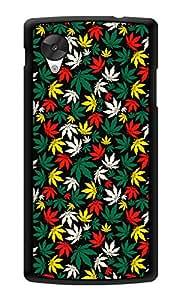 "Humor Gang Marijane Colorful Printed Designer Mobile Back Cover For ""Lg Google Nexus 5"" (3D, Glossy, Premium Quality Snap On Case)"