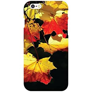 Apple iPhone 6 - Yellow & Red Matte Finish Phone Cover