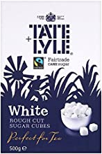 Tate amp Lyle Fairtrade White Rough Cut Cubes 500g - Pack of 2