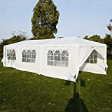 Wedding Party Tent Outdoor Camping 10'x30' Easy Set Gazebo BBQ Pavilion Canopy Cater Events