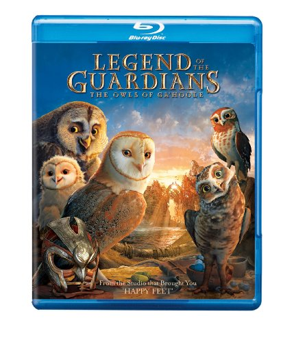 Cover art for  Legend of the Guardians: The Owls of Ga'hoole [Blu-ray]