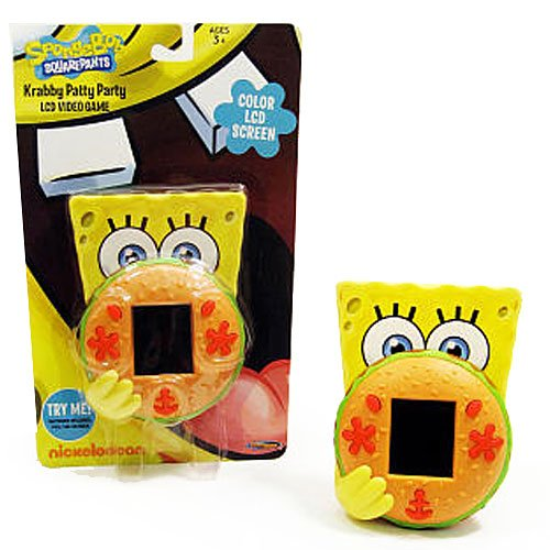 Spongebob Squarepants Krabby Patty Party Lcd Video Game Picture