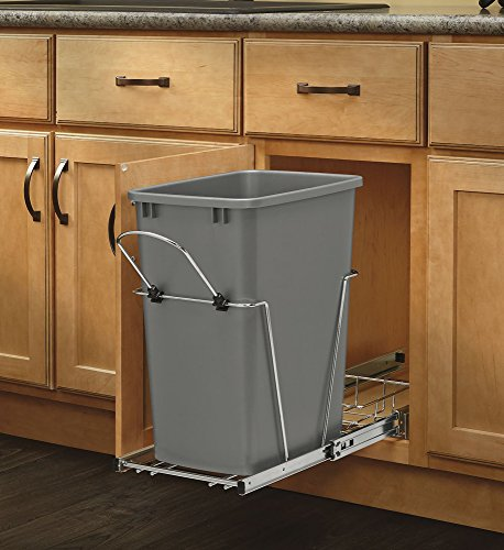 Rev-A-Shelf - RV-12KD-17C S - 35 Quart Pullout Waste Container