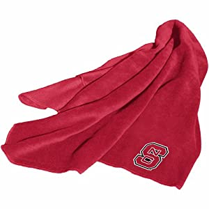 Buy NCAA North Carolina State Wolfpack Fleece Throw Blanket by Logo Chairs Inc