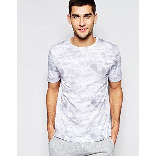 (エイソス) ASOS メンズ トップス Tシャツ ASOS Loungewear Skater T-Shirt With Cloud Print 並行輸入品