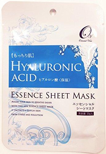 マスクパック オリエンタルビュー エッセンス シート マスク ヒアルロン酸 25g 100枚セット 韓国