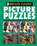Brain Games Picture Puzzles: How Many Differences Can You Find (green cover)
