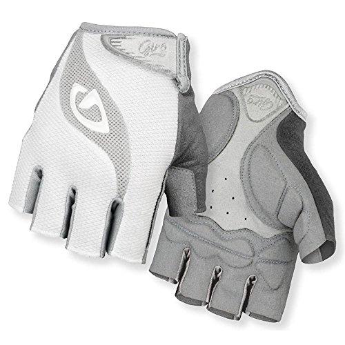 Giro women 39 s tessa gloves white gray medium arts for Craft hobbies for women