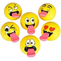 "2"" Sling Shot Emoji Ball (Package Of 12)"