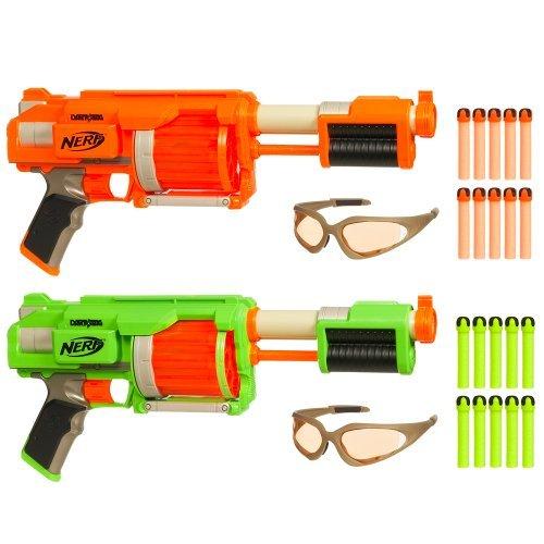 Nerf Dart Tag FuryFire 2 Pack Set