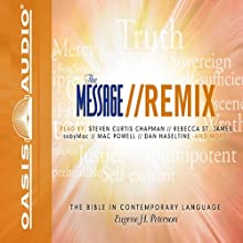 Message Remix Bible: Psalms & Proverbs Audiobook by Eugene H. Peterson Narrated by Kelly Ryan Dolan
