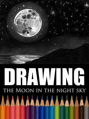 Clip: Drawing the Moon in the Night Sky