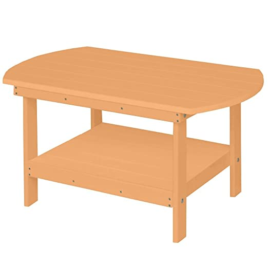 Berlin Gardens Oblong Coffee Table - Cedar