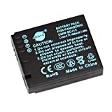 DSTE® Replacement Li-ion Battery for DMW-BCJ13, DMW-BCJ13PP and Panasonic Lumix DMC-LX5, DMC-LX7