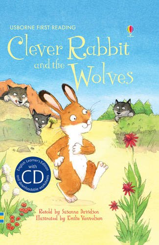 Clever Rabbit And The Wolves ( + CD) (English Language Learners/Elementary)