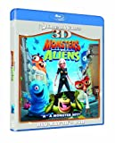 Monsters Vs Aliens 3D (Blu-ray 3D + Blu ray + DVD) [2009]