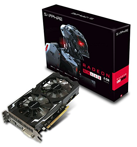 Sapphire Technology Radeon Rx 460 2gb Gddr5 Pci-e hdmi dvi-d dp o