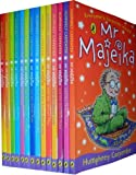 Humphrey Carpenter Mr Majeika Collection 14 Books Set RRP:£69.86(Mr Majeika,the School Trip,Mr Majeika and the Lost Spell Book,the Ghost Train, the Dinner Lady, the School Caretaker, the Music Teacher, the Haunted Hotel, the School Book Week, the Interne