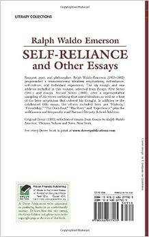Ralph waldo emerson classic essay self reliance