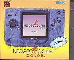 SNK NEOGEO Pocket Color Console in Ocean Blue