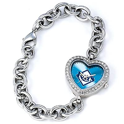 MLB Women's MH-TB Heart Collection Tampa Bay Rays Watch