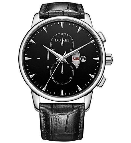 burei-herren-armbanduhr-chronograph-herrenuhr-leder-schwarz-bm-7003-01e