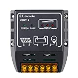 Docooler 10A 12V/24V Solar Charge Controller Solar Panel Battery Regulator Safe Protection